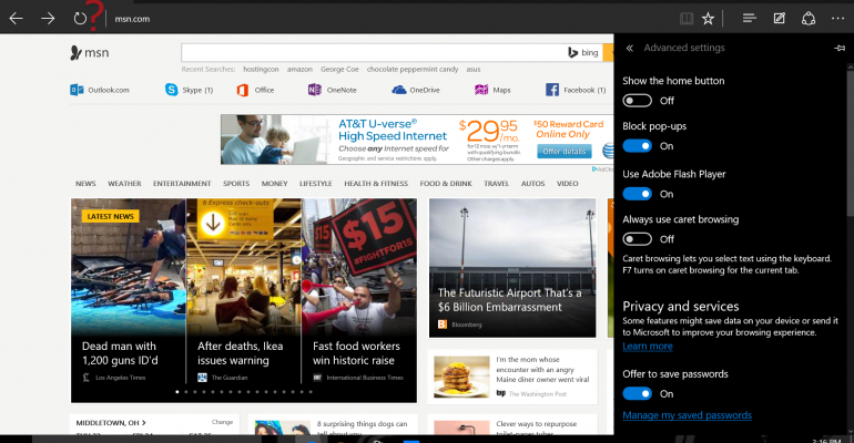 How To: Add the Home Button Back to Microsoft Edge