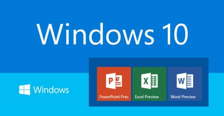 Office Universal Apps planned for release alongside of Windows 10