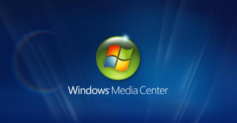 Windows Media Center not Quite Dead Yet