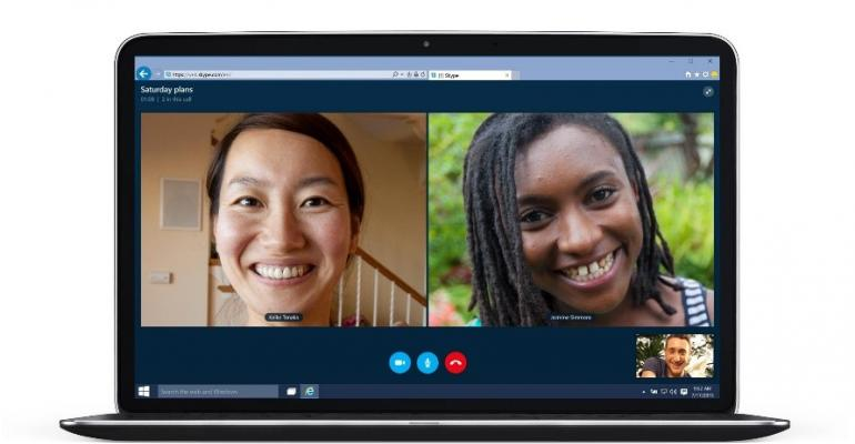 Microsoft adds free Group Voice and Video Calls to Skype on the web