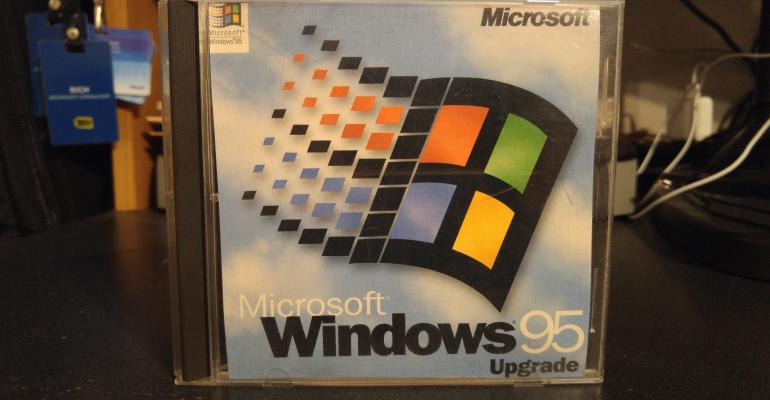 Windows 95 started up 20 years ago today