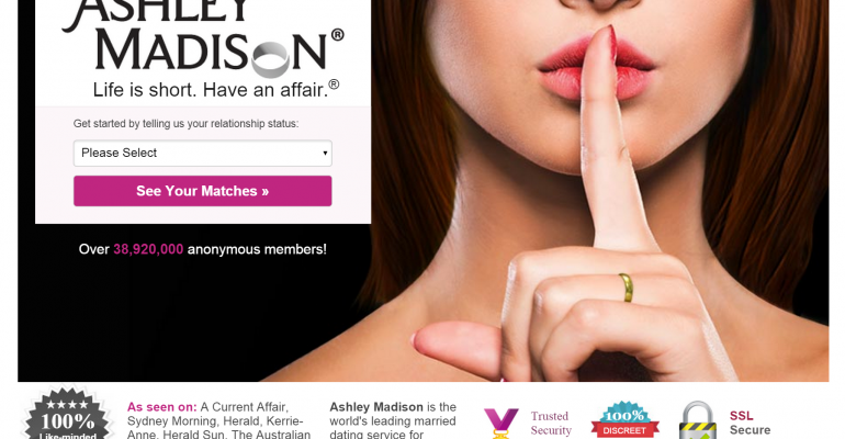 Security Sense: 10 Reactions to the Ashley Madison Data Breach