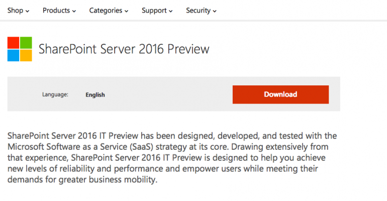 SharePoint Countdown ... Wait! SharePoint 2016 Preview Is Here!