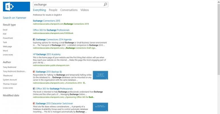 SharePoint's interesting hybrid cloud search service
