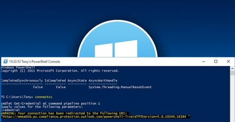 Windows 10 Build 10525, PowerShell, and Office 365