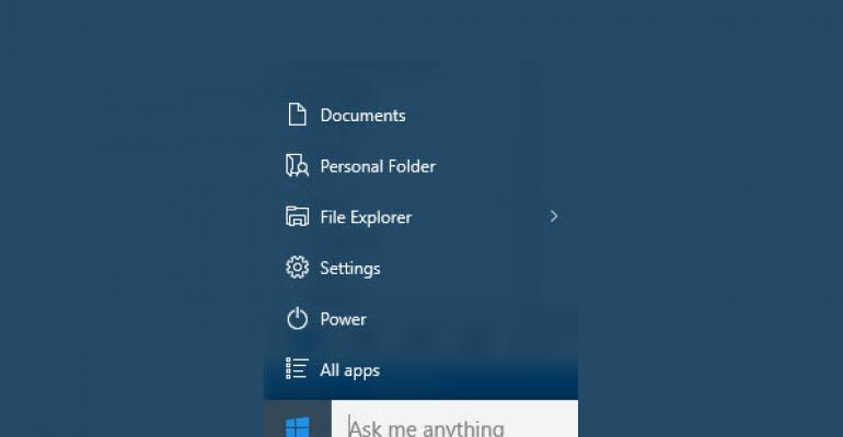 How To: Organize the Windows 10 Quick Folders on Start
