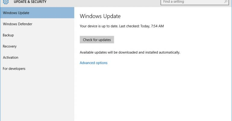 Generating the Log Files for Troubleshooting Windows Updates for Windows 10