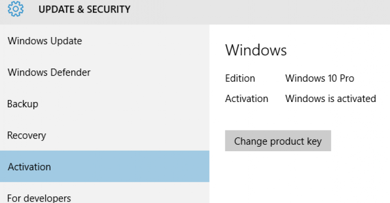 Microsoft finally publishes Windows 10 activation information