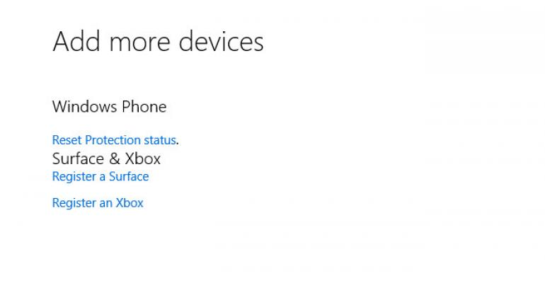 Maximum number of devices notification after Windows 10 upgrade