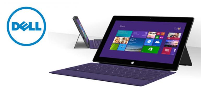 Dell to Sell and Service Microsoft's Surface Pro Tablets