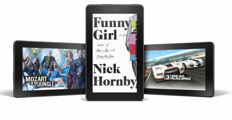 Why is Amazon selling a six-pack of tablets for $250?