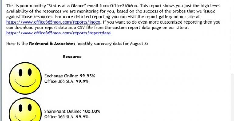 Growing Office 365 numbers make Microsoft's  SLA calculation less valuable