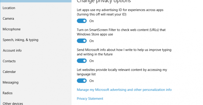 Windows 10 Privacy Settings Walkthrough (Video)