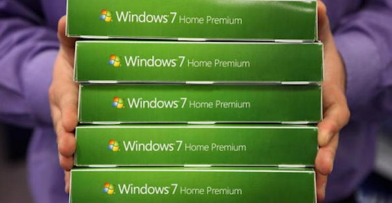 Q: Why am I not able to download apps to my Windows 7 machine?