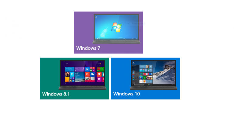 How to download the last three versions of Windows officially at no cost