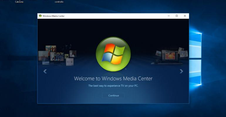 Getting Windows Media Center to Work with Windows 10