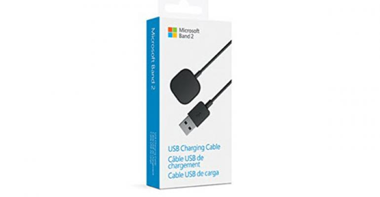 Getting an Extra Charging Cable for the Microsoft Band 2