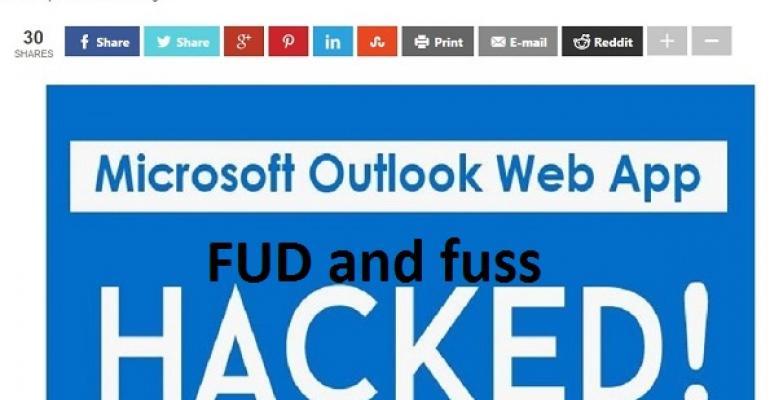 FUD continues over OWA backdoor exploit