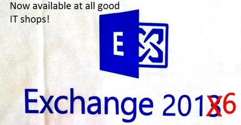 Exchange 2016 debuts to delight on-premises customers