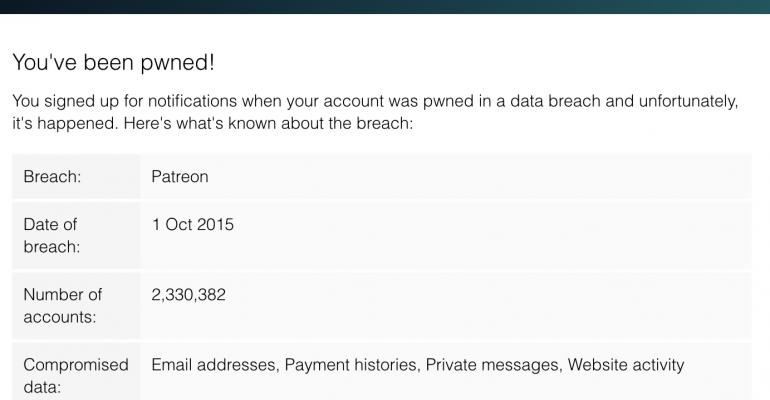 Security Sense: So I Got Pwned in a Data Breach (again)