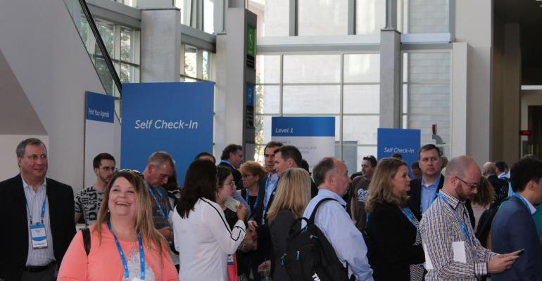 Check in time at Dell World where Dell made a number of updates and announcements regarding its product lines
