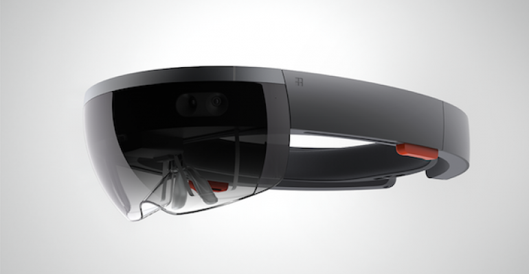 Taking the Microsoft HoloLens for a test drive