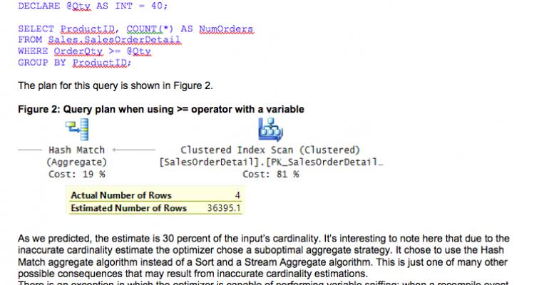 SQL Server Query Optimization: No Unknown Unknowns