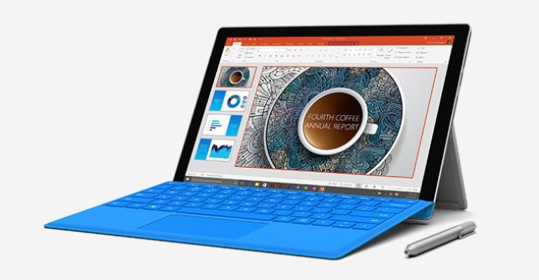 Surface Pro 4 vs MacBook Air - Core Specs