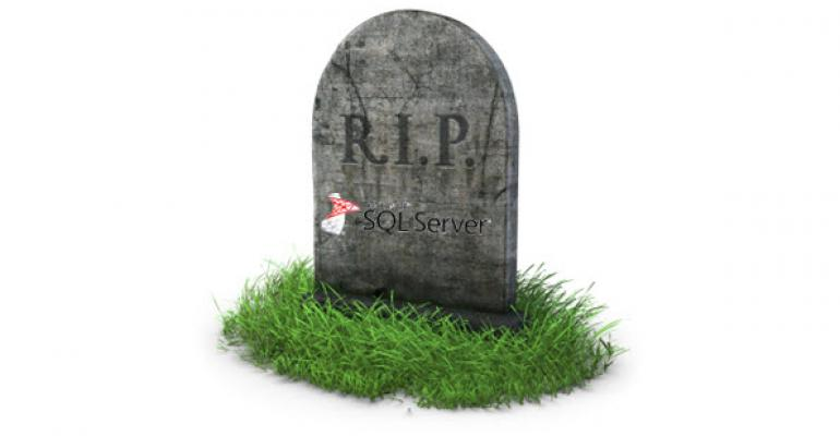 PSA: SQL Server 2005 Reaches End-of-Life April 12, 2016