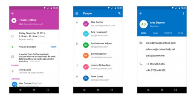 Outlook for iOS and Android Getting New Look, Sunrise Merge on the Horizon