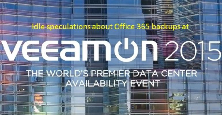 Veeam and Office 365 - not today, maybe in the future