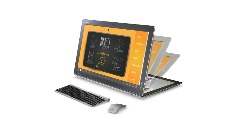 Lenovo launches new Yoga #Windows10Devices in San Francisco