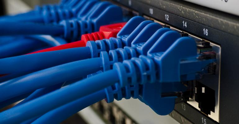 Change the VLAN of a site in a logical network