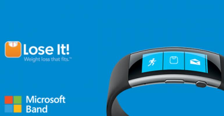 Lose It! First Wave Microsoft Band v2 Integration Now Available
