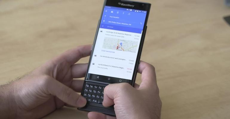 Can BlackBerry's Android phone get anyone to listen?