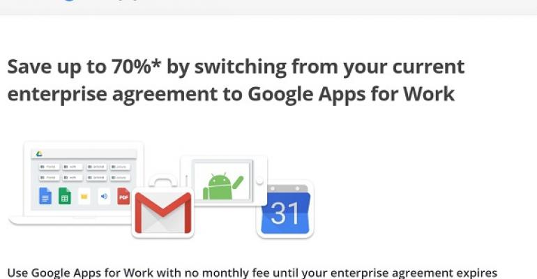Google's last gasp attempt to stop the Office 365 juggernaut
