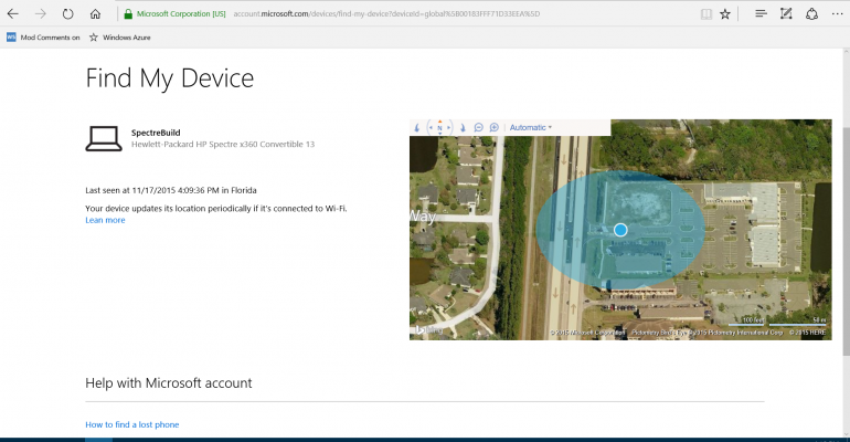 Windows 10 November Update: Finding Your Device