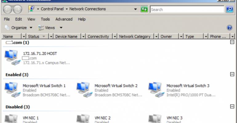 SMB Direct within a Hyper-V VM