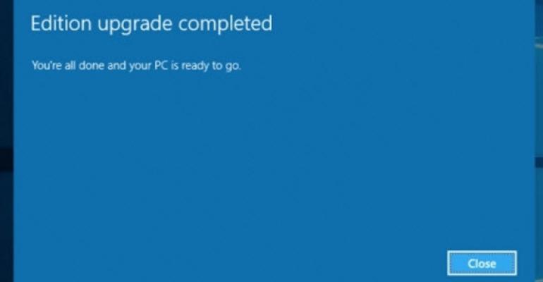 Windows 10 1511 Upgrade Now on WSUS
