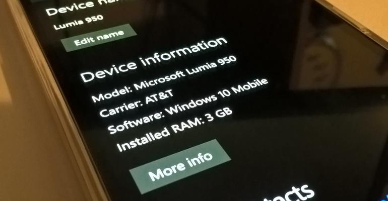 Windows 10 Mobile Enterprise deployment file released