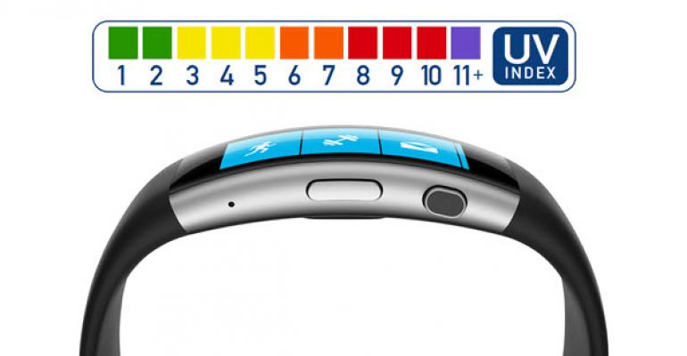 Differences in UV Capabilities Between Microsoft Band 1 and Band 2