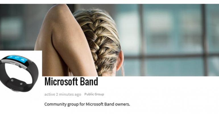Join the Microsoft Band Community Group