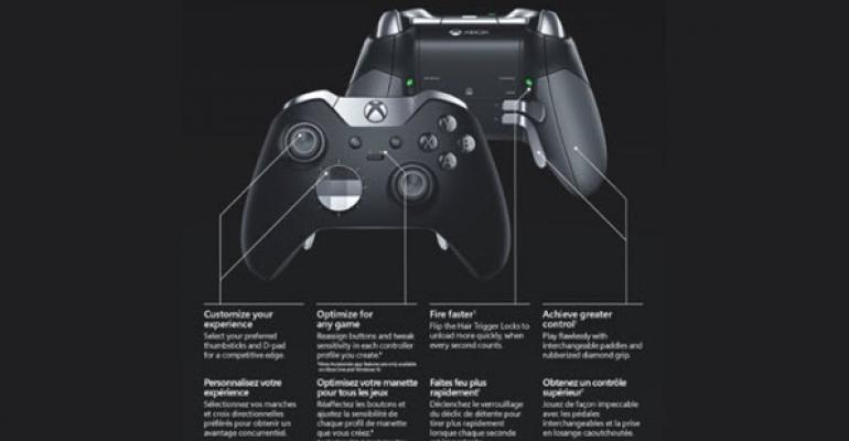 Xbox One Elite Wireless Controller Now Available from Amazon