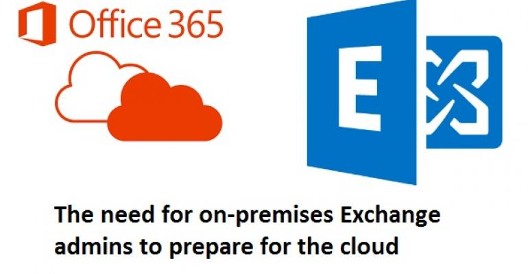No advanced training available, so what should experienced Exchange administrators do?