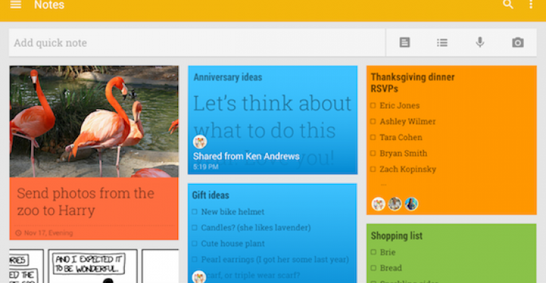 How to conquer productivity with Google Keep