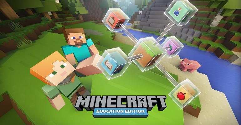 Microsoft announces new education offerings from Minecraft and OneNote