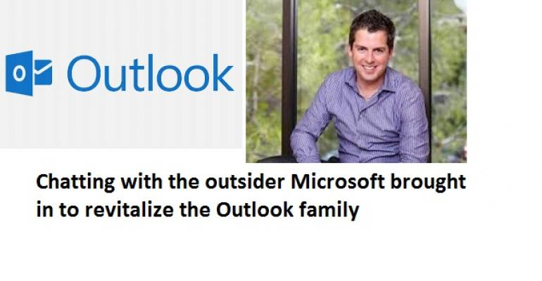 Talking with Javier Soltero, the outsider Microsoft tapped to reinvent Outlook across platforms