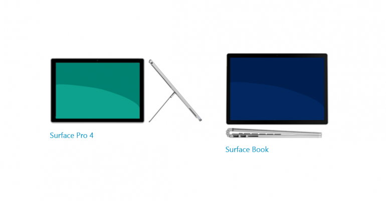 Surface Book and Surface Pro 4 Firmware Released