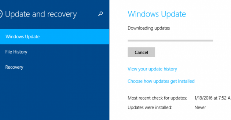 Windows Updates versus Cumulative Updates