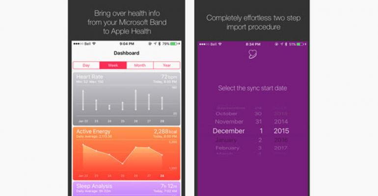 Import Microsoft Health Data into Apple Health